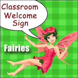 printable classroom welcome sign