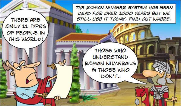 Roman Numerals Activities