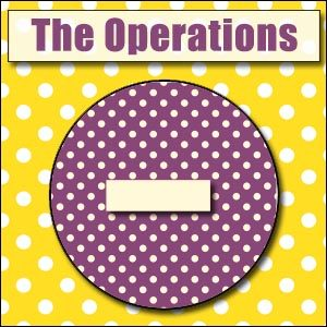 Printable Operations-Signs