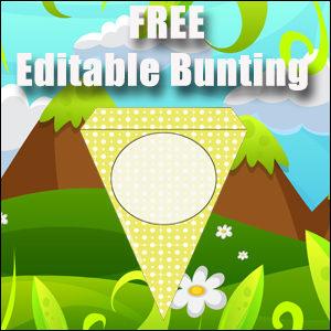 Free Editable Bunting - Classroom Decor