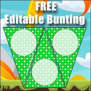 classroom bunting free