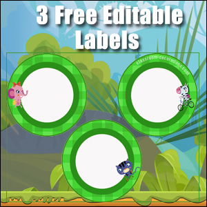 Green Circles - FREE & Editable