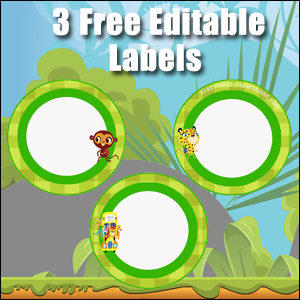Light Green Circles 2 - FREE & Editable