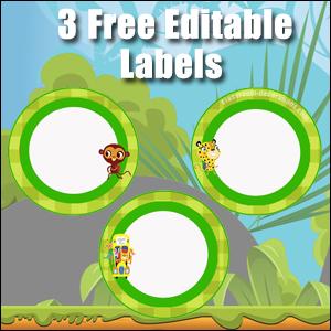 Light Green Circles 2 - FREE & Editable
