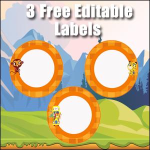 Orange Circles - FREE & Editable